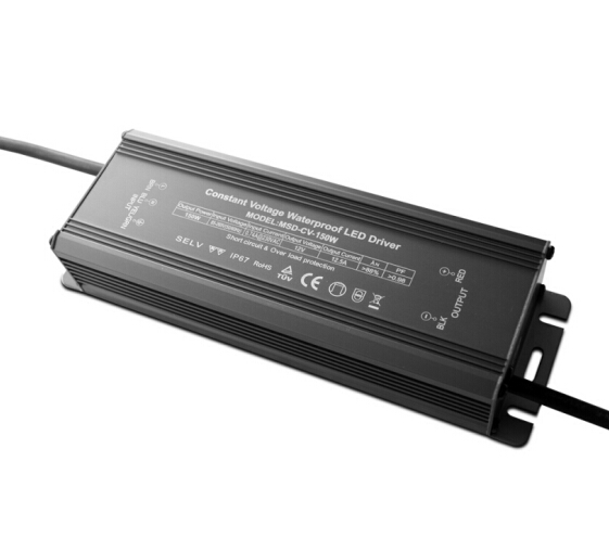 150W LED Power Supply Driver Transformer Adapter ETL Listed 110V AC to 12V DC 12.5A Current Output Constant Voltage for LED