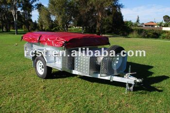 customers love-hot dipped galvanized travel trailer