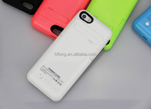 2200mAh for iPhone 5 5C 5S Slim Rechargeable Battery Charger Case External Backup Portable Power Bank Charger Case Power Pack