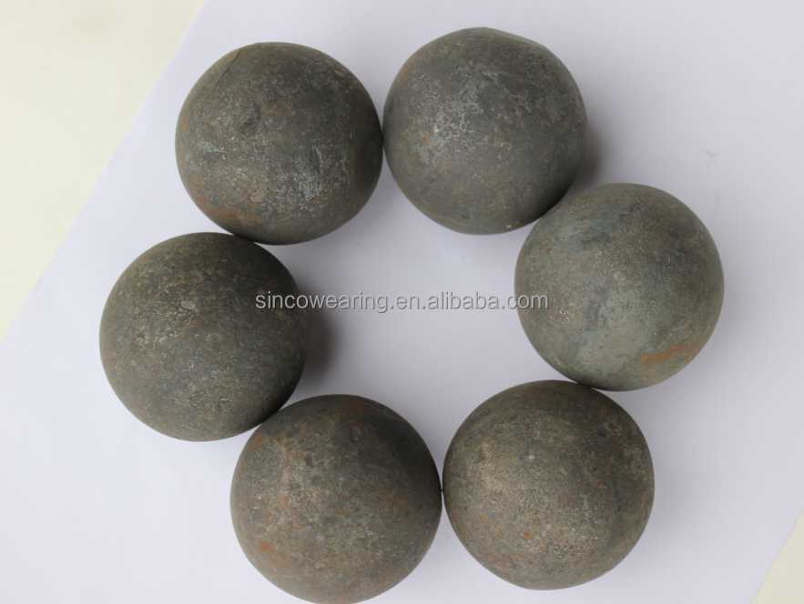 Casting grinding ball grinding media High Cr, low Cr