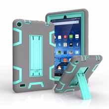 Shockproof Hybrid Cover Heavy Duty Case for Amazon Kindle Fire 8 Inch