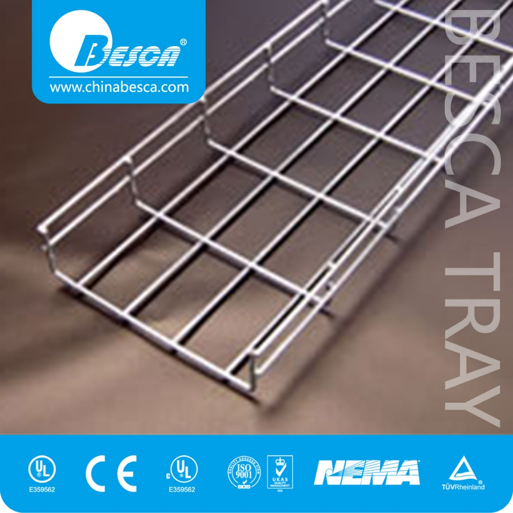 Linknet Galvanized Steel & Stainless Steel Wire Mesh Cable Tray