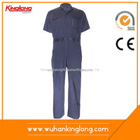 China Coverall Suit Manufacturer 100% Cotton Soft Works Clothing