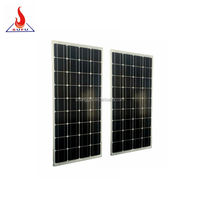 Top supplier high efficiency mono perlight solar panel 100w 150w solar pv module for solar power system