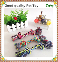 Cheap wholesale Cotton Dog Durable Chew Rope Toy For Dog Fun
