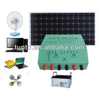 20A 12V solar power inverter with controller for solar home system S604,moisture resistant, aluminum casing