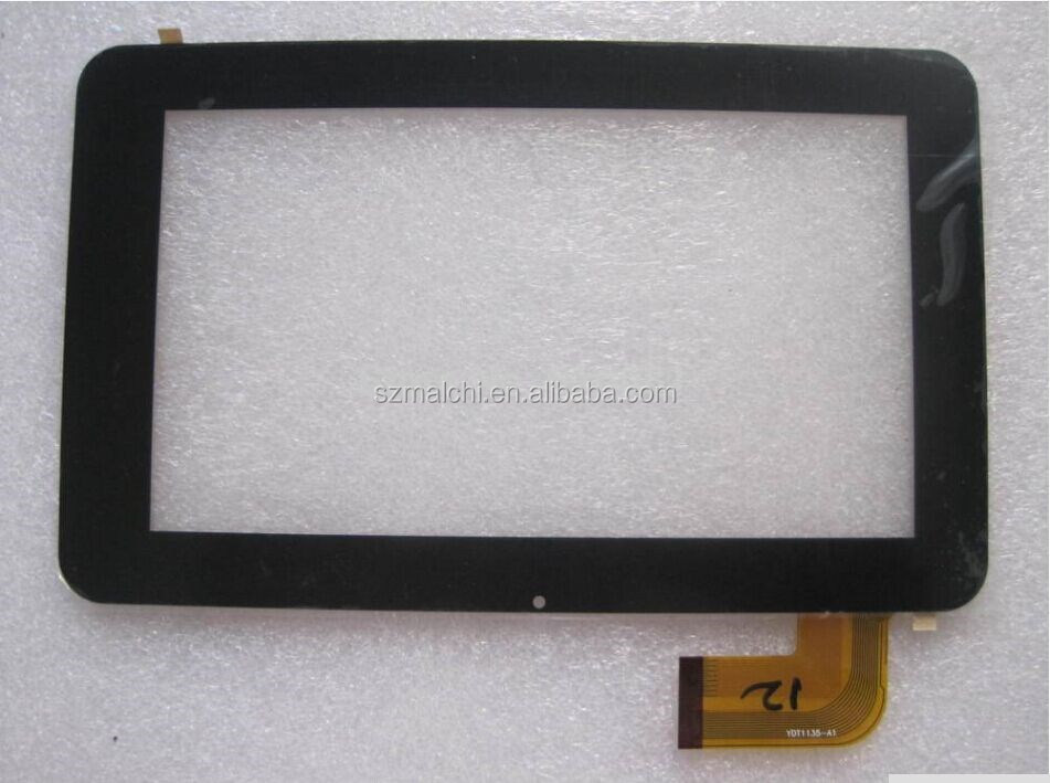 "7"" Tablet PC ICOO D50W touch panel touch screen digitizer YDT 1135-A1 size:189*118mm"