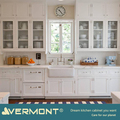 2018 Vermont New Model Kitchen Cabinet With MDF Frame Glass Door Design