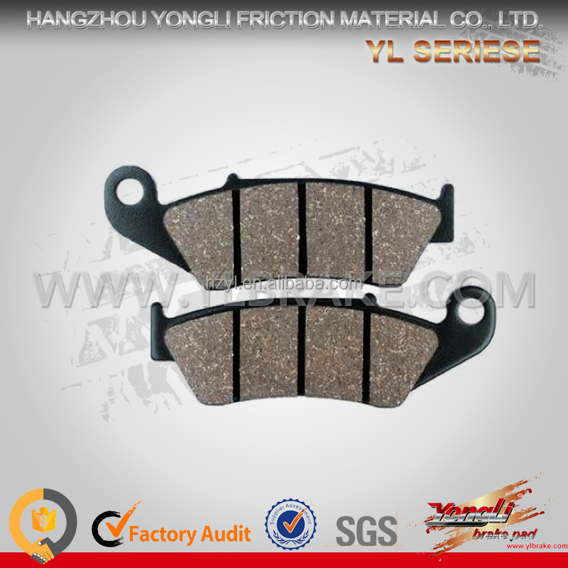 quality brake pads factory cheap chinese motorcycles