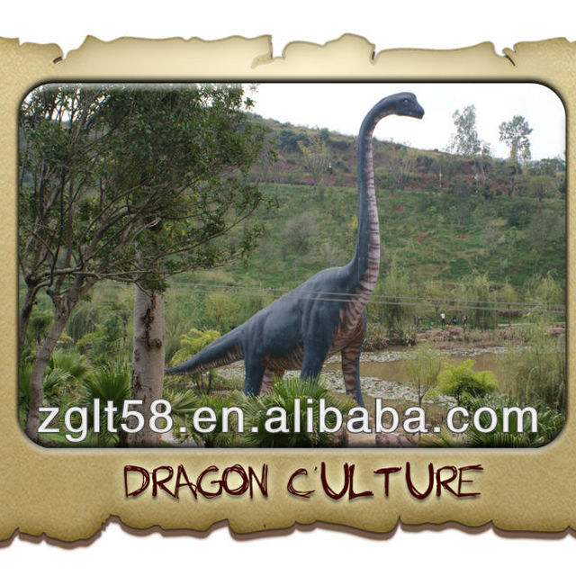 hot sale dinopark artificial dinosaur