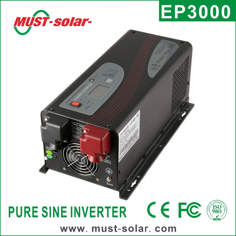 Rechargeable Power Dc to Ac 2000w 12v 220v Pure Sine Wave Inverter with Charger