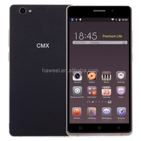 IN STOCK CMX C10 HOT SALE Original CMX C10 6 inch Android 5.1 Mobile Phone MTK6580 Quad Core 1.3GHz ROM: 8GB RAM: 1GB(Black)