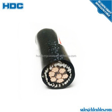 99.99% pure copper conductor compacted 99.99% pure copper wire 3.6/6kV 8.7/15 KV 21/35kV high dentisy XLPE HDPE power cable
