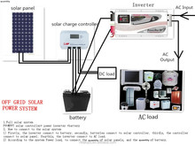 2kw 3kw off-grid solar panel power system for kids