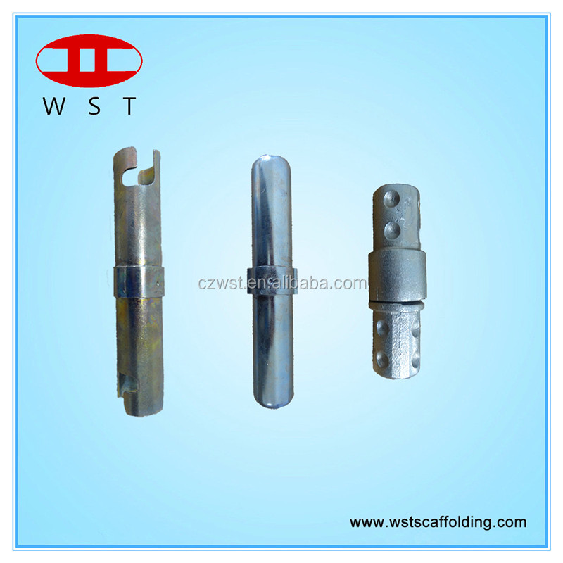 Pressed scaffolding inner joint pin
