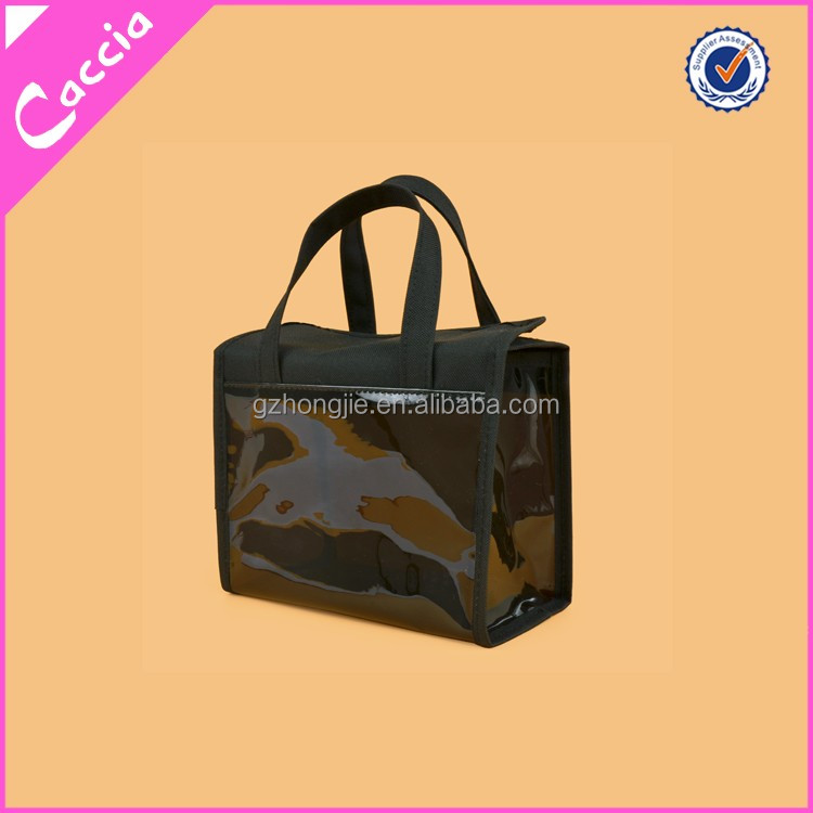 shining surface pvc bag transparent cosmetic bag large capaticy makeup bag