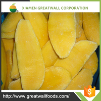 high quality 2016 iqf sliced mango