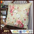 100% Printed Cotton Decorative Cushion Pillow Filled 3-5CM Grey Duck Feather