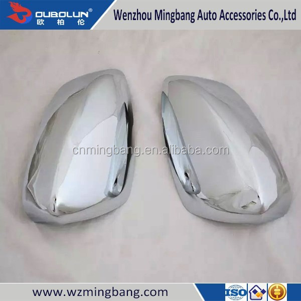 HOT SELL! ABS Chrome Mirror Cover Mirror Cover Trim for Mazda 3 Axela