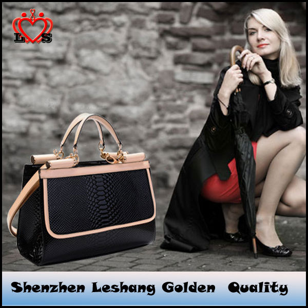2014 Embossed casual fashion handbags Korea style&authentic designer handbag wholesale.