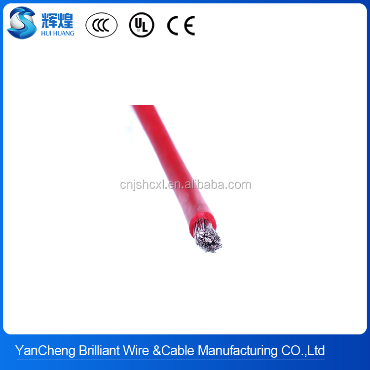 Professional Manufacturer ul3135 awg24 7/0.2 0.6mm ul certification silicone hook up wire With Good Service