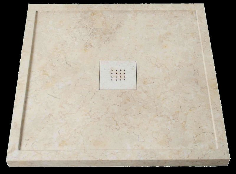 natural stone shower tray_AZ/SST-8080GL