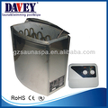 DAVEY sauna steam heater,dry steam sauna heater