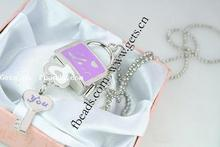 Zinc Alloy necklace lock