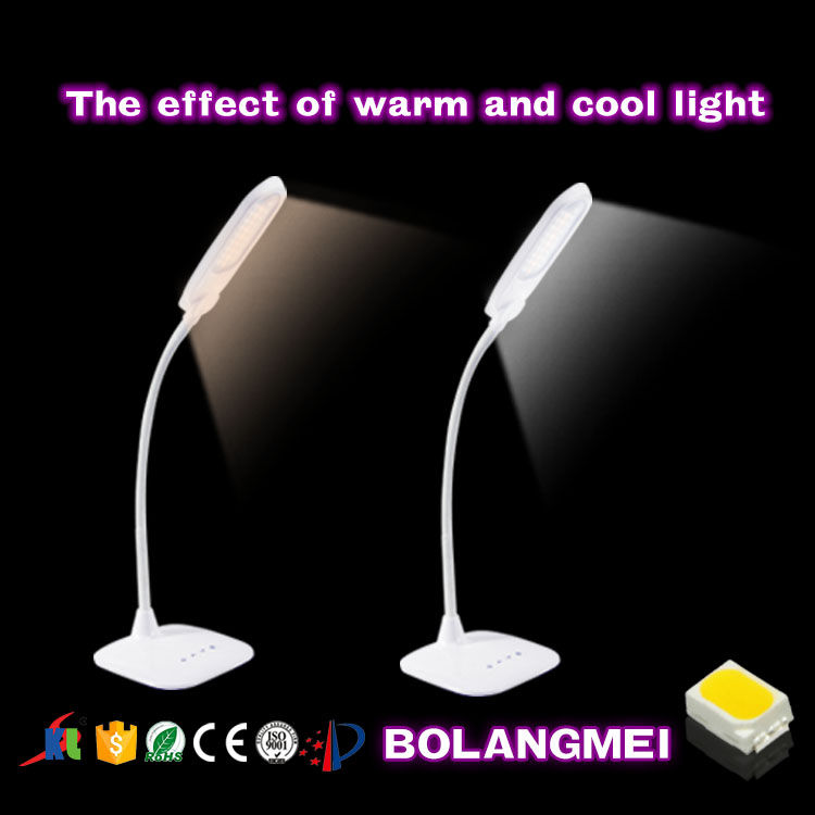 battery powered operated modern table lamps reading lights for bed
