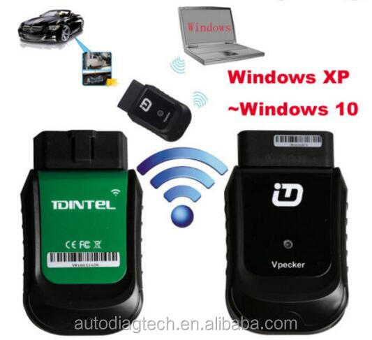 Latest V9.1 VPECKER Easydiag WINDOWS 10 Wireless OBDII Full Diagnostic Too
