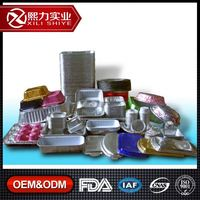 Custom Made 8011 3 Compartments Aluminium Foil Food Container Shanghai Aluminum Supplier