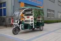 Battery operated rickshaw three wheelers for passenger best selling for India market