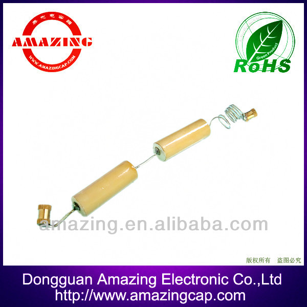 24KV 90PF good charge and discharge good insulativity high voltage ceramic capacitor for Charge indicator