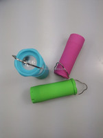 Mini LED Torch Flashlight Camping Fishing Lantern