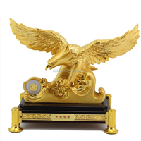 Resin eagle sculpture eagle ornaments arts & crafts eagle statue for home decor