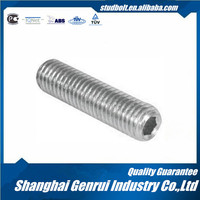 High quality Titanium Flat Point Socket Screw Iso4026 made in China