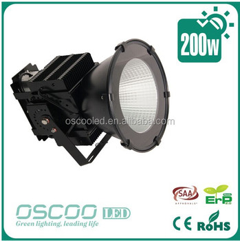 200w led floodlight smd led flood light C ree XBD chip and Meanwell driver IP65
