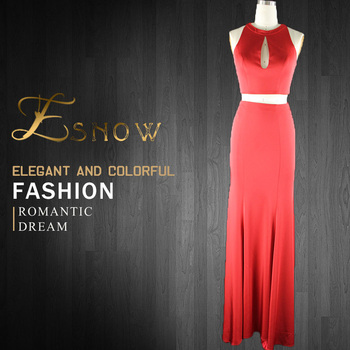 2016 Chaozhou Wholesale Graceful Two-pieces Mermaid Dress for ladies