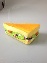 Wholesale Latex Hamburger Sandwich Toy ,Delicious for Dog