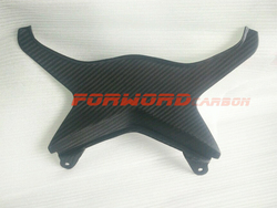 Quality carbon fiber motorcycle parts matt finish 3k twill rear tail center fairing for Kawasaki Ninja ZX6R 636