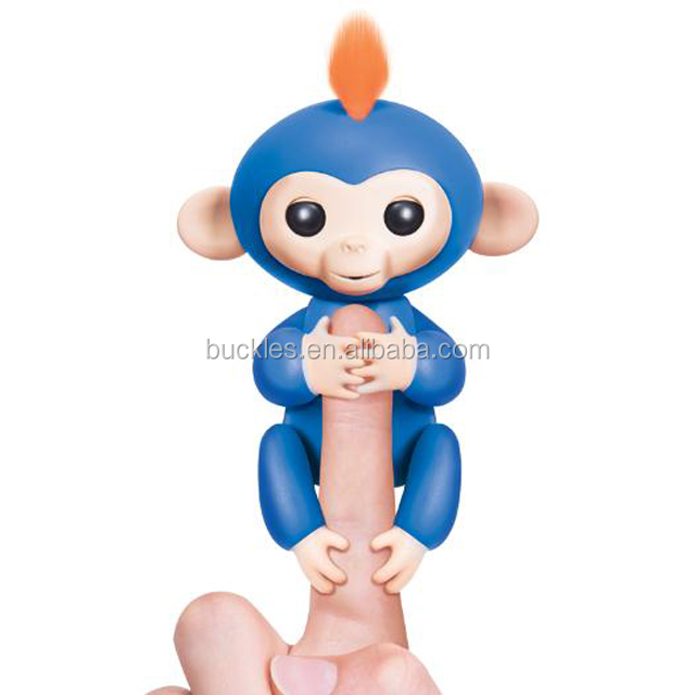 Electronic plastic fingerlings baby monkeys toy Monkeys finger toys for kids