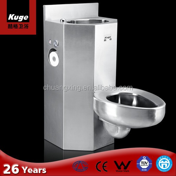 CE Approved Vandal resistant maximum security bus toilet