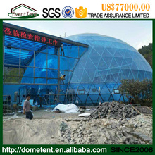 Wholesale Tent Prefab Fiberglass Dome House With Glass Wall For Sale
