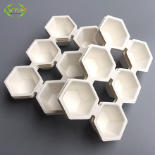 Biodegradable pulp container,pulp moulded,customized pulp package