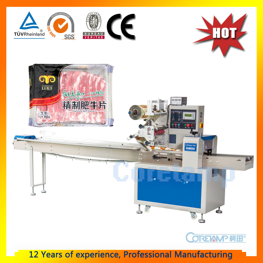 Automatic Flow Fresh Meat Packing Machine