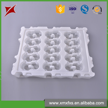 Professional design white pp disposable plastic blister medical tray