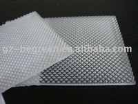 Custom PC embossed sheet, high quality PC solid sheet, clear PC sheet
