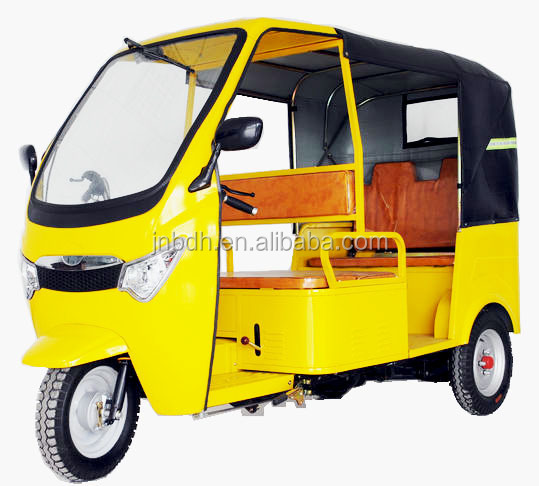 Made In China 200CC Bajaj Taxi Passenger Tricycle for Sale