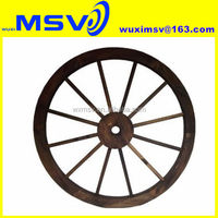 Old Cart Wagon Wheel /Antique Cart Wagon Wheel