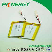303450 500mAh 3.7V Li-polymer battery rechargeable batteries for GPS,POSmachines,smart phone, pad,uav